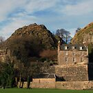 Dumbarton Castle by Alexander Mcrobbie-Munro