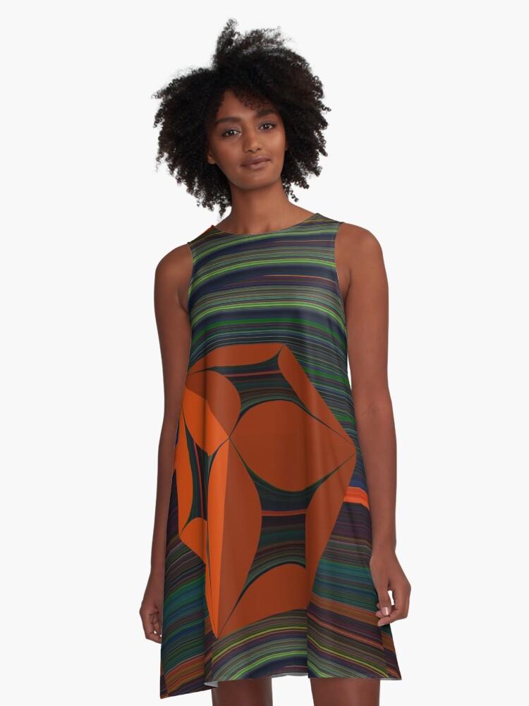 Box 123 A-Line Dress Front