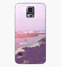 vaca at the beach Case/Skin for Samsung Galaxy