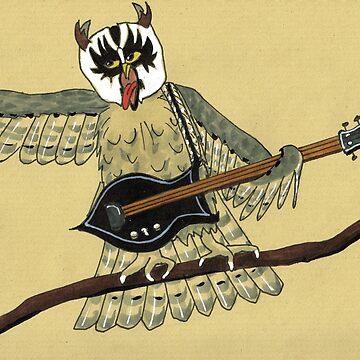 Screech Owl by E-Maniak