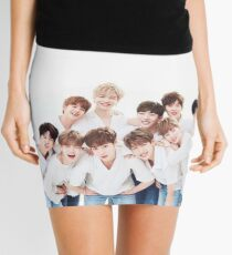 Soft Wanna One  Mini Skirt