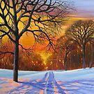 winter landscape by Dian Bernardo