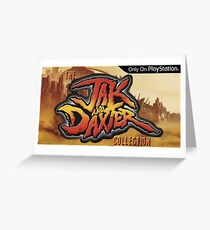 Jak and Daxter Greeting Card