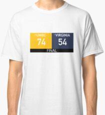UMBC Basketball Upset Virginia  Classic T-Shirt