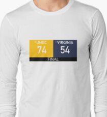 b460023cdb2 UMBC Basketball Upset Virginia Long Sleeve T-Shirt