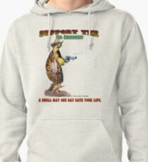 Support the 2nd Amendment Cowboy Turtle Pullover Hoodie