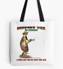 Support the 2nd Amendment Cowboy Turtle Tote Bag