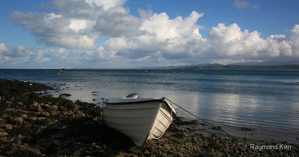 """""""Moelfre Beach"""" by Raymond Kerr"""