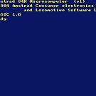 Amstrad CPC464 Boot Screen by ChoccyHobNob