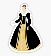 Abstract Evil Queen Sticker