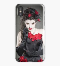 Red Orchids iPhone Case