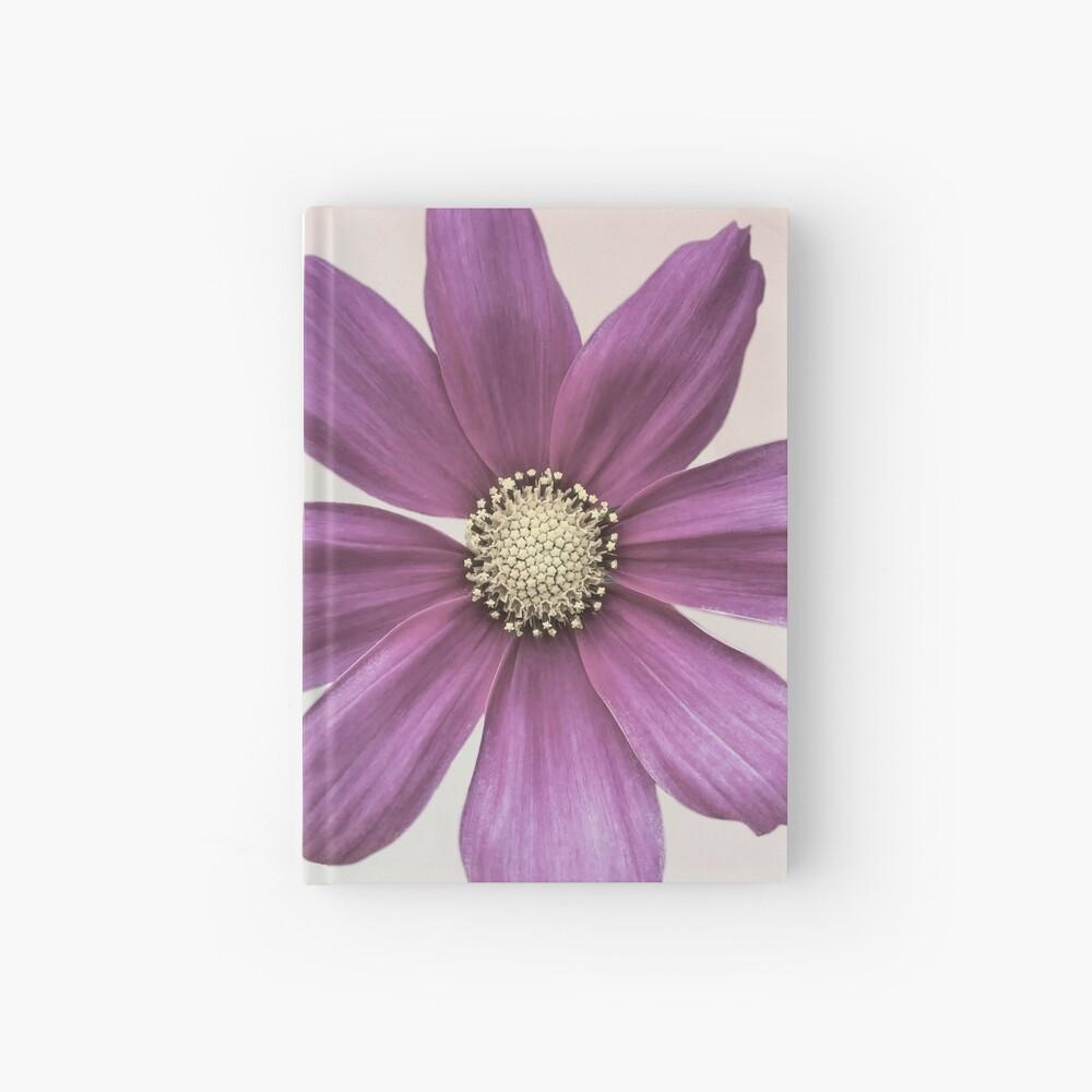 Purple Cosmos Flower Hardcover Journal