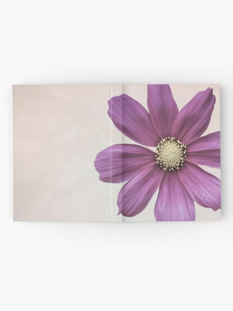 Alternate view of Purple Cosmos Flower Hardcover Journal