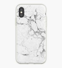 Marble white iPhone Case