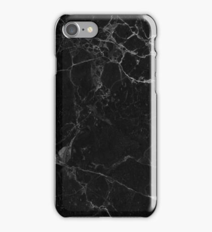 Marble black iPhone Case/Skin