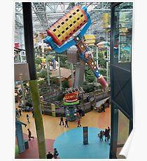 Nickelodeon Universe ~ Mall of America Poster