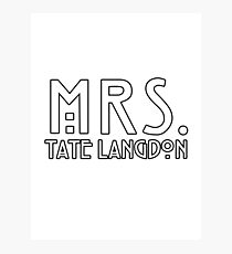 mrs. tate Photographic Print
