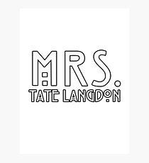 mrs. tate Photographic Print