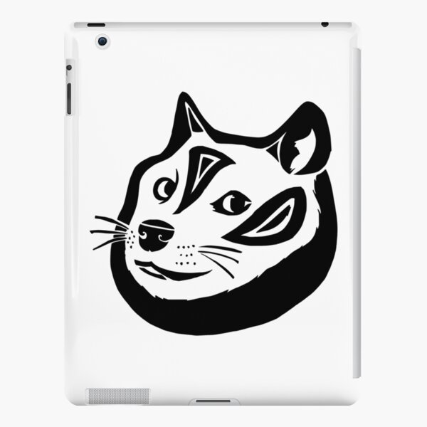 Tribalish Doge iPad Snap Case