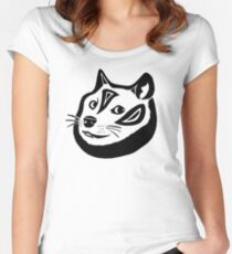 Tribalish Doge Fitted Scoop T-Shirt
