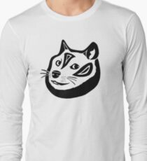 Tribalish Doge Long Sleeve T-Shirt