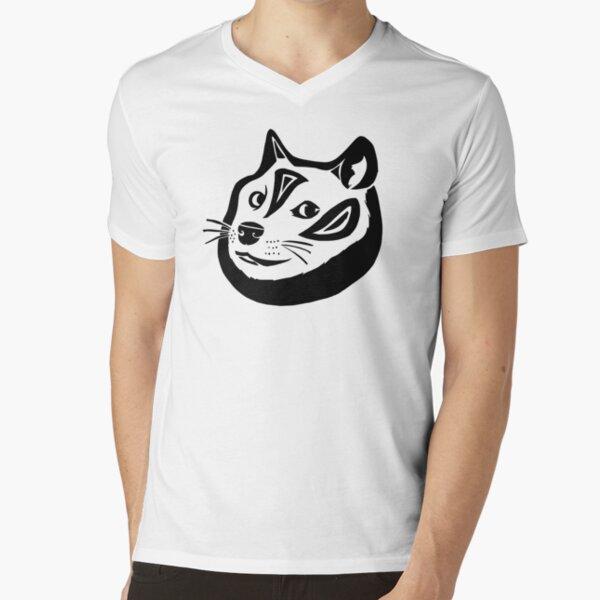 Tribalish Doge V-Neck T-Shirt