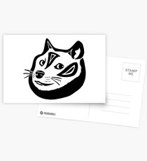 Tribalish Doge Postcards