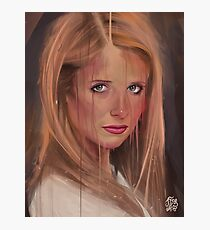 What are you drawing Ryan? // 382. Buffy The Vampire Slayer Photographic Print