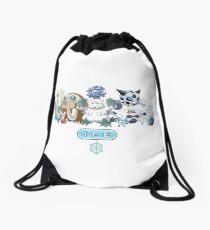 Ice-Type Pokemon Drawstring Bag