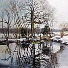 Snow and Still Water by Paula Oakley