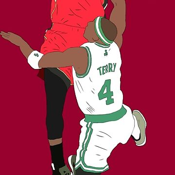 LeBron James Dunk On Jason Terry by RatTrapTees