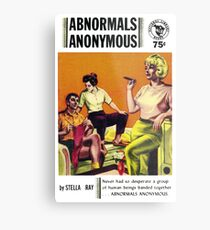 Abnormals Anonymous Pulp Novel Cover Metal Print