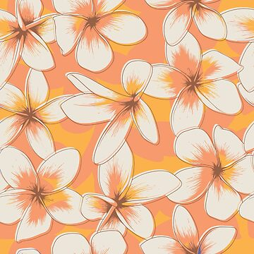 Light Orange Fragipani by deepfuze