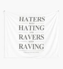 Keep Raving #1 Wandbehang