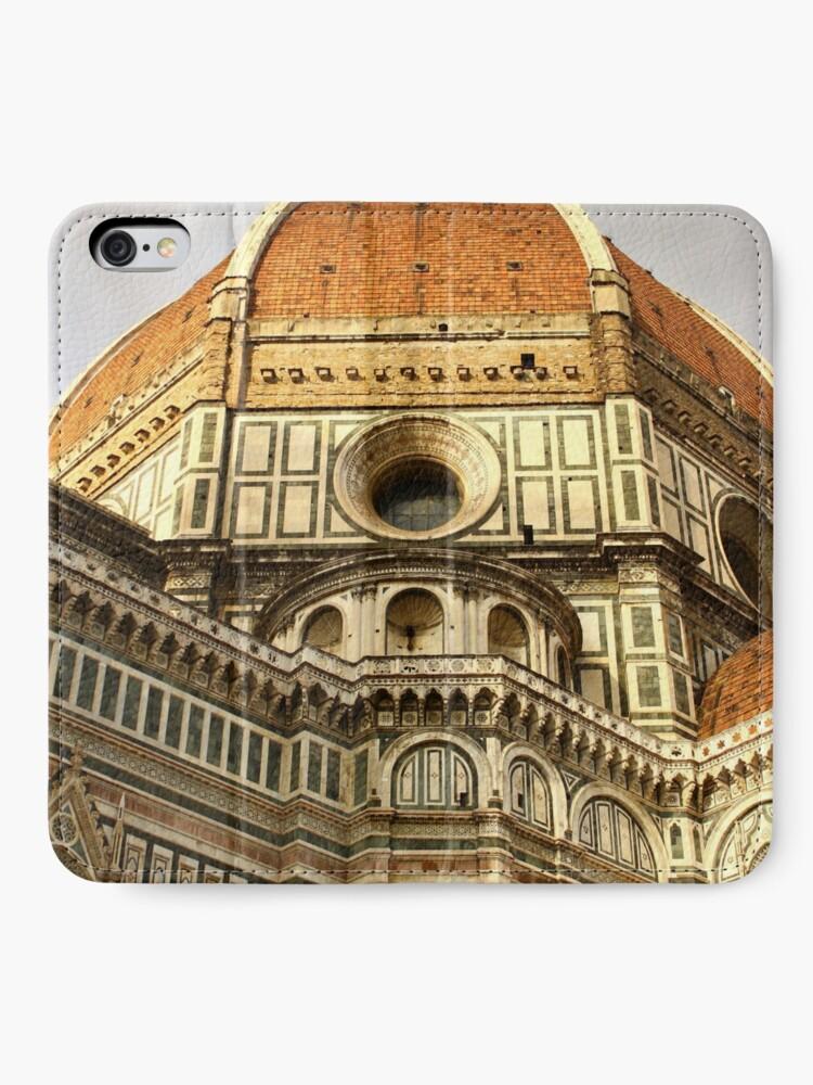 Alternative Ansicht von Florenz Duomo iPhone Flip-Case