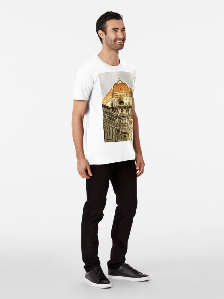 Alternative Ansicht von Florenz Duomo Premium T-Shirt