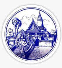 Seal of Phnom Penh Sticker