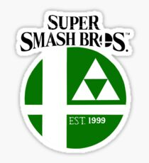 Super Smash Bros Zelda Sticker
