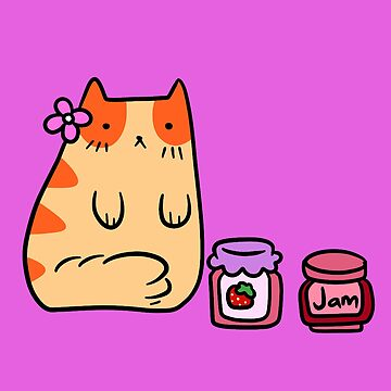 Jam and Jelly Cat by SaradaBoru