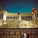 Piazza Venezia, Rome by Brian Posslenzny