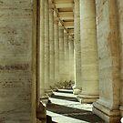 Vatican pillars by Brian Posslenzny