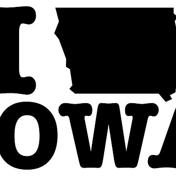 I Love Iowa by HolidayShirts