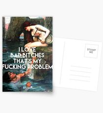 Siren - I Love Bad Bitches  Postcards