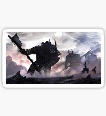Spearman Vs. Giants Sticker