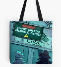 Public Announcement Tote Bag