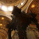 Inside St. Peter's Basilica by Brian Posslenzny