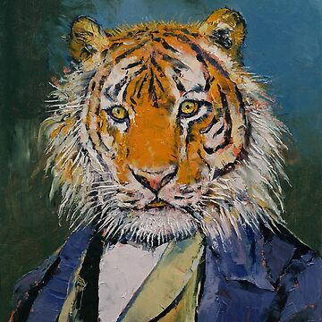 Gentleman Tiger by michaelcreese