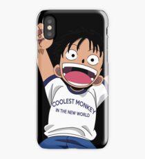 Luffy One Piece iPhone Case/Skin