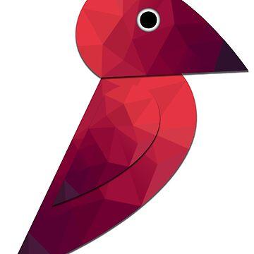 Polygon Bird by sub7anallah