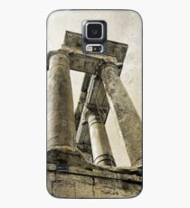 Temple of Saturn, Rome, Italy Case/Skin for Samsung Galaxy